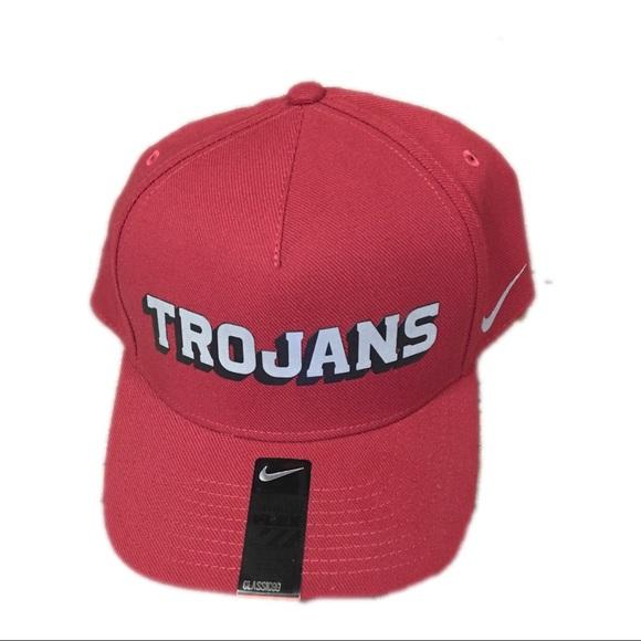f697664b03f7b USC Trojans Nike Verbiage DNA Flex Fit Hat Cap
